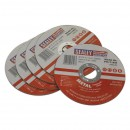 Image for CUTTING DISC ?115 X 1.6MM 22MM BORE PACK OF 5