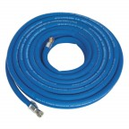 Image for AIR HOSE 15MTR X Ø10MM WITH 1/4inchBSP UNIONS EXTRA H