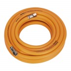 Image for AIR HOSE 10MTR X Ø8MM HYBRID HIGH VISIBILITY WITH