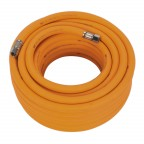 Image for AIR HOSE 15MTR X Ø10MM HYBRID HIGH VISIBILITY WITH