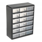 Image for CABINET BOX 18 DRAWER