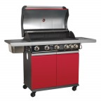Image for GAS BBQ 5 BURNER + SIDE BURNER & SIDE BOWL