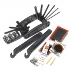 Image for FOLDING MULTI-TOOL & PUNCTURE REPAIR KIT - BICYCLE