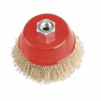 Image for BRASSED STEEL CUP BRUSH Ø100MM M14 X 2MM