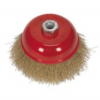 Image for BRASSED STEEL CUP BRUSH Ø125MM M14 X 2MM
