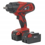 Image for CORDLESS IMPACT WRENCH 1/2inchSQ DRIVE 650NM 18V 4AH