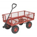 Image for PLATFORM TRUCK WITH REMOVABLE SIDES PNEUMATIC TYRE