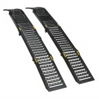 Image for STEEL FOLDING LOADING RAMPS 500KG CAPACITY PER PAI