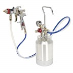 Image for HVLP PRESSURE POT SYSTEM WITH SPRAY GUN & HOSES 1.