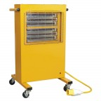 Image for INFRARED CABINET HEATER 1.5/3KW 110V