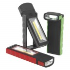 Image for MAGNETIC POCKET LIGHT 3W + 0.5W COB LED 4 X AAA CE