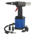 Image for AIR/HYDRAULIC NUT RIVETER HEAVY-DUTY VACUUM SYSTEM
