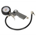 Image for TYRE INFLATOR WITH GAUGE