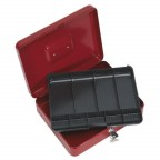 Image for KEY LOCK CASH BOX 300 X 240 X 90MM