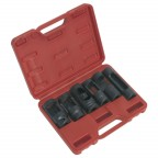 Image for DIESEL INJECTOR WINDOW SOCKET SET 6PC 1/2inchSQ DRIVE