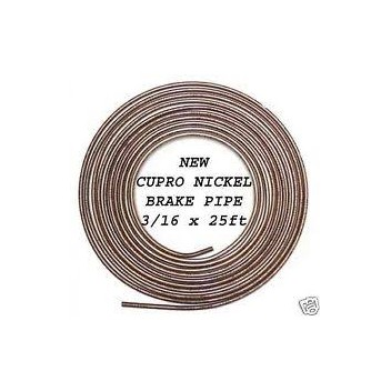 "Image for 25ft x 3/16"" Cupro Nickel Brake Pipe"