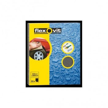 Image for Flexovit Wet & Dry 240 Grit (pk 25)