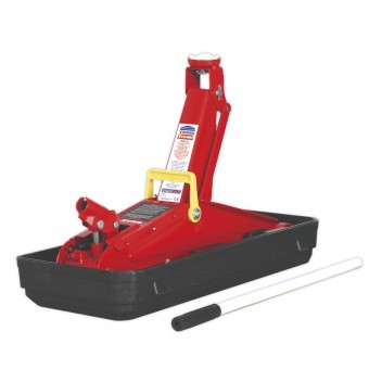 Image for TROLLEY JACK 2TONNE SHORT CHASSIS WITH STORAGE CAS