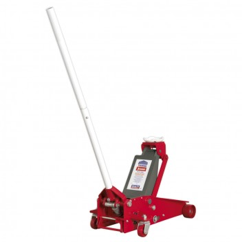 Image for TROLLEY JACK 3TONNE WITH SAFETY LOCK