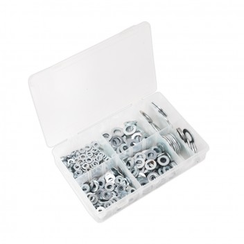 Image for FLAT WASHER ASSORTMENT 495PC M6-M24 FORM C METRIC