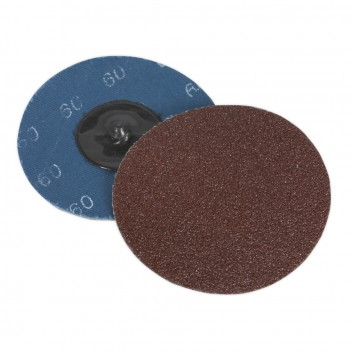 Image for QUICK-CHANGE SANDING DISC ?75MM 60GRIT PACK OF 10