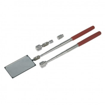 Image for MAGNETIC PICK-UP & INSPECTION TOOL KIT 4PC