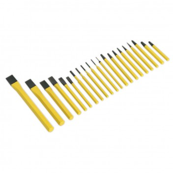 Image for PUNCH & CHISEL SET 21PC