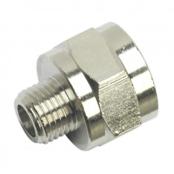 Image for ADAPTOR 1/4inchBSPT MALE TO 1/2inchBSP FEMALE