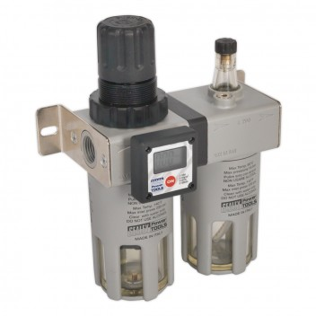 Image for PROFESSIONAL AIR FILTER/REGULATOR/LUBRICATOR WITH