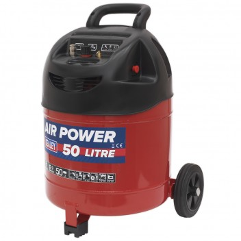 Image for COMPRESSOR 50LTR BELT DRIVE 2HP OIL FREE